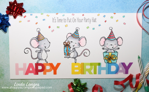 Birthday Blend Long Card main