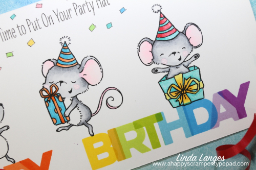 Birthday Blend Long Card CU