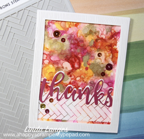 Thanks Cards - pink