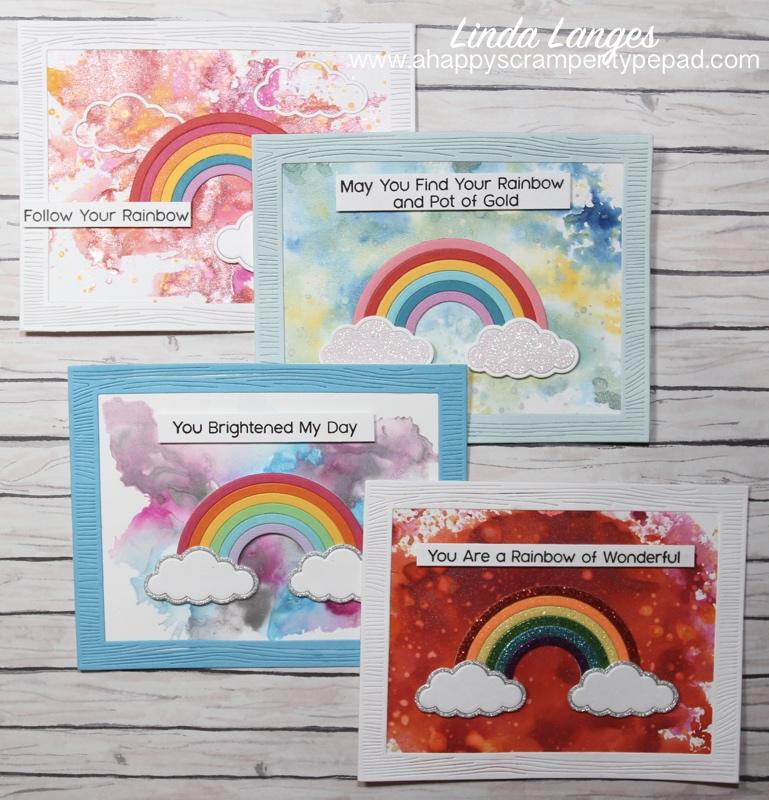 Four Rainbow Signs