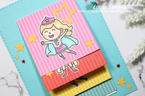Flippin' Awesome Super Girl Card CU